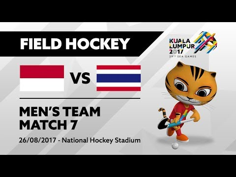 KL2017 29th SEA Games | Men's Field Hockey - INA 🇮🇩 vs THA 🇹