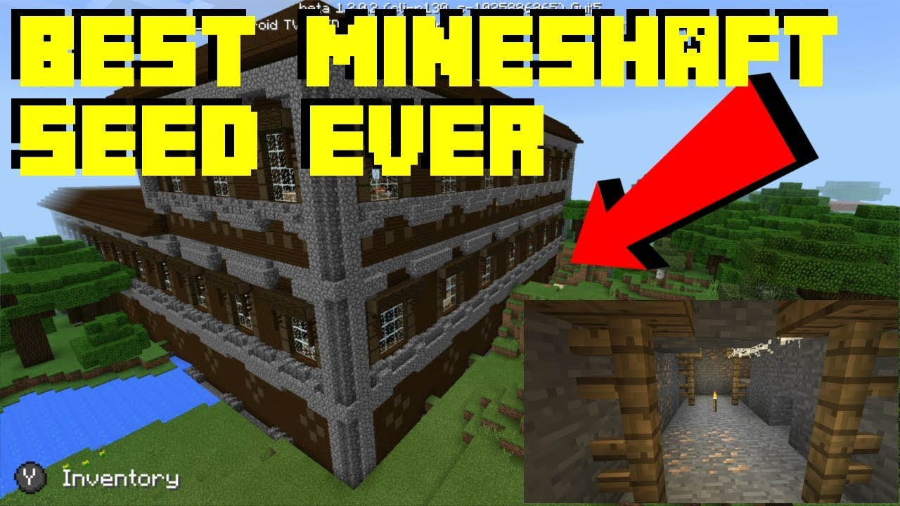 Best Mineshaft Seed Ever Minecraft 8.8 Better Together Beta Seed -  Woodlands Mansions and Mineshaft