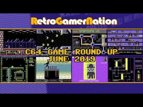 C64 Game Round Up - June 2019 (RGN Episode 118)