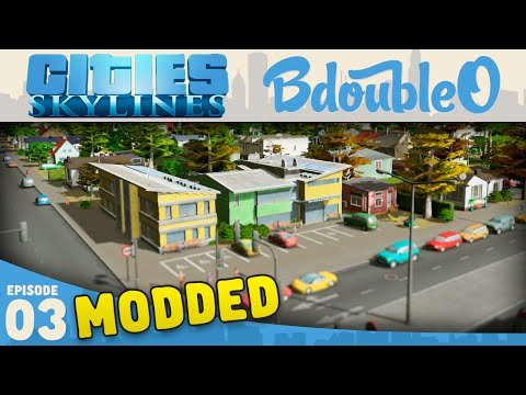Cities Skylines Mods :: New School Building! Part 3 [Cities Skylines Gameplay]