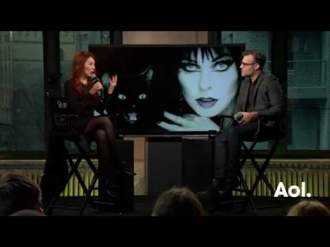 """Cassandra Peterson, A.K.A. Elvira, Discusses Her Book, """"Elvira's Coffin Table Book"""""""