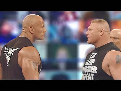 Download WWE 23 Oct. 2021 - The Rock challenge Brock Lesnar | BOM BOY