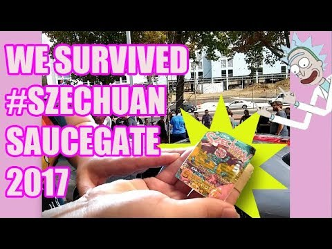 WE SURVIVED MCDONALDS SZECHUAN SAUCEGATE 2017 // DELAWARE STORYTIME