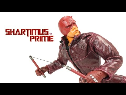 Marvel Studios Daredevil 12 Inch 2003 Daredevil Movie ToyBiz Action Figure Review