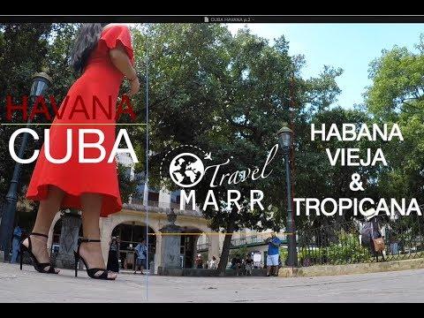 BEAUTIFUL GIRL IN CUBA: Old Havana & Tropicana Cabaret