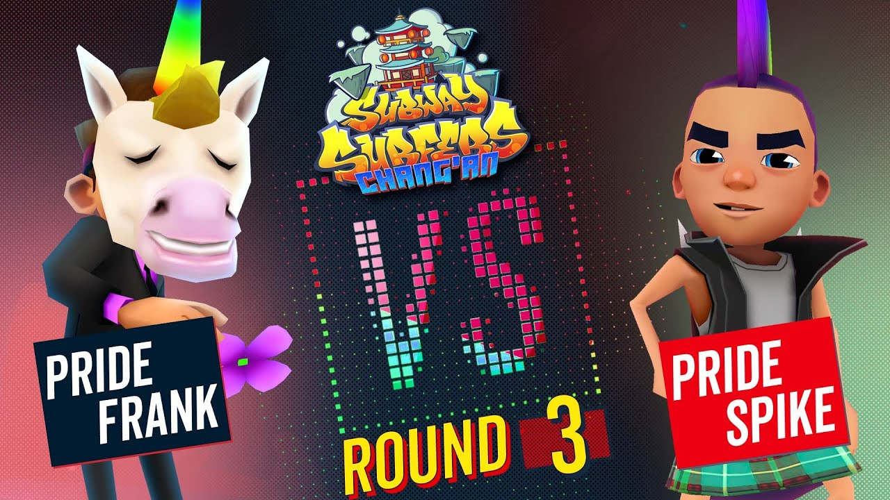 Subway Surfers Versus   Frank VS Spike   Chang'an - Round 3   SYBO TV