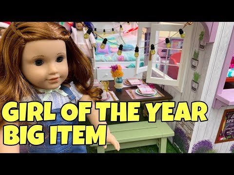 2019 Girl Of The Year - Blaire Wilson - Farm Restaurant - American Girl Doll - GOTY