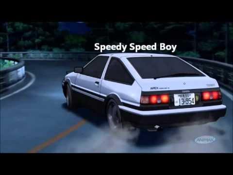 Initial D  Speedy Speed Boy