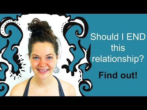 "Reflection Exercise: ""Should I END this relationship?"" - Relationship Advice"