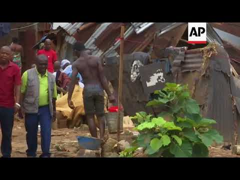 Outbreak of diseases feared in Freetown disaster zone