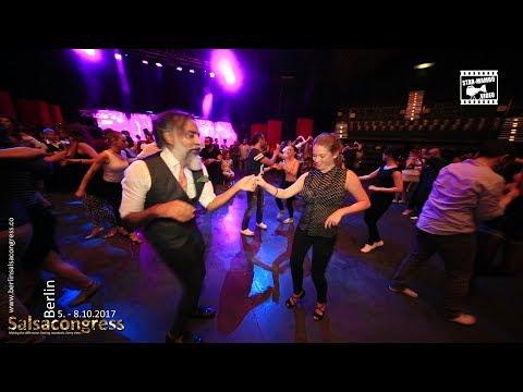 Shinto & Victoria - social dancing @ Berlin Salsa Congress 2017