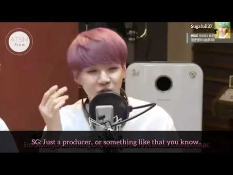Min Suga Yoongi talks about how he struggled to become an IDOL
