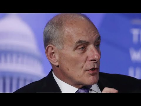 Gen. Kelly replaces Priebus as White House chief of staff