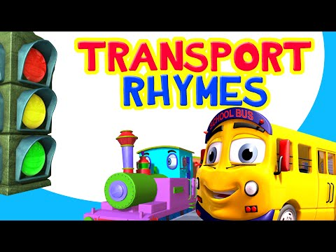 Vehicle and Transport Songs Collection | including Wheels on the Bus | Infobells