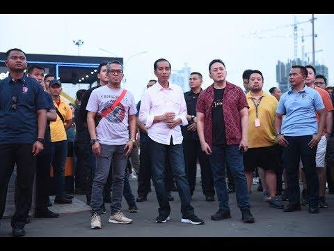 Menemani Presiden Joko Widodo Di We The Fest 2018