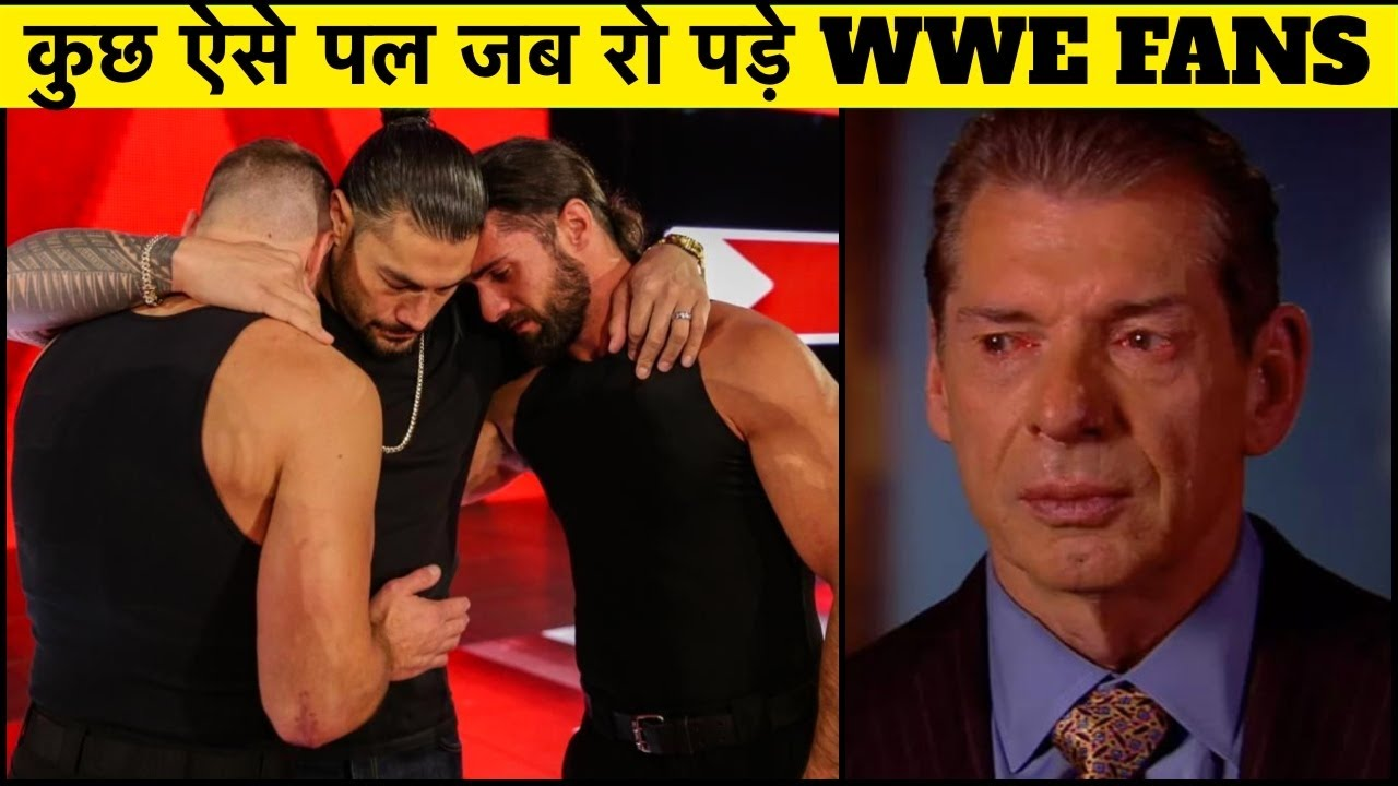 WWE Emotional Moments That Made Fans Cry