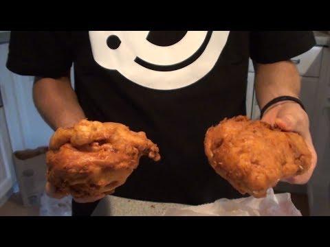 Double-Deep-Fried KFC (& more...) | Matt Stonie