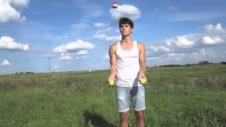 Обучение жонглированию. Для новичков.