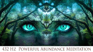🎧 432 Hz Powerful Abundance Meditation   Prosperity Luck & Wealth   Simply Hypnotic