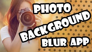 ▶ Best Background Blur App For Android | OTC Hindi