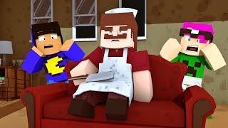 Minecraft: SE ESCONDENDO NA CASA DO AÇOUGUEIRO ASSASSINO!