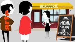 Der französische Rohkostsalat | Karambolage | ARTE