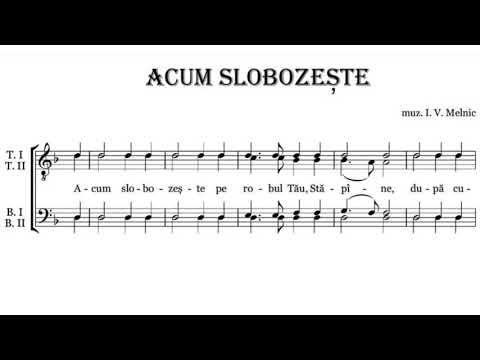 «Acum Slobozește» I.V. Melnic Corul Mănăstirii Curchi
