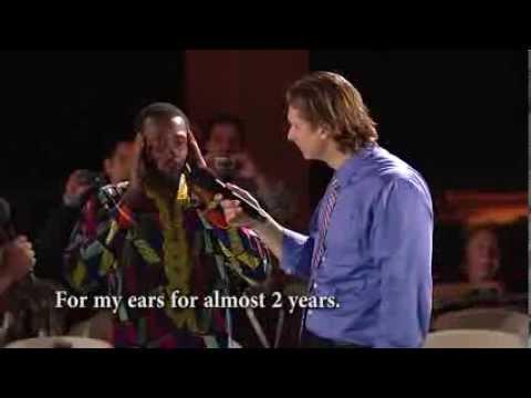 Deaf Muslim Healed in Jesus' Name!