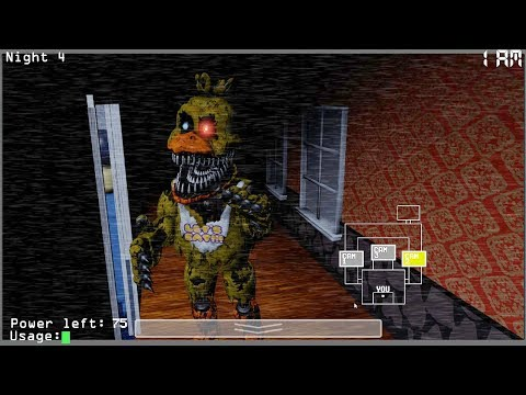 Five Nights at Freddy's 4 w/ CAMERAS (Watch Your Nightmares)