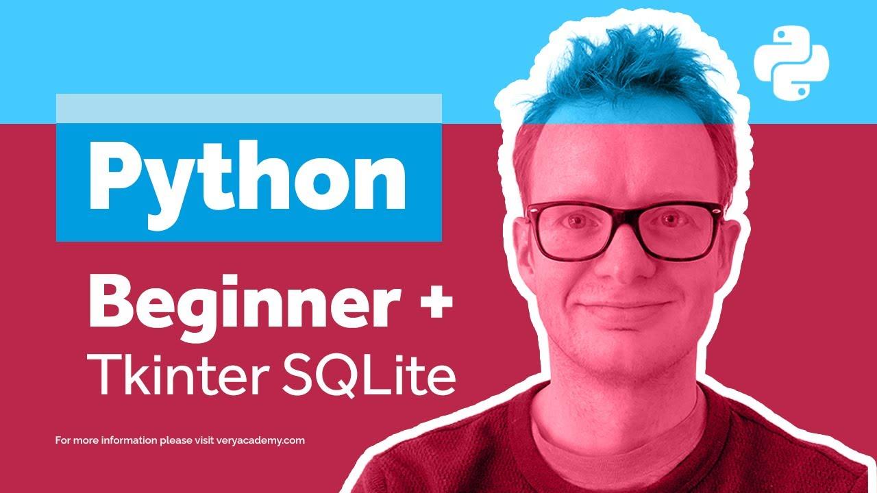 Python Tkinter SQLite Example