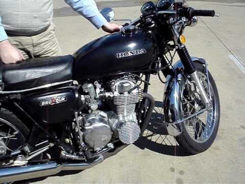 1974 honda cb550f youtube for European motors cedar rapids