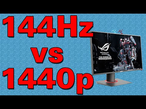 Resolution vs Refresh Rate for Gaming? - ThioJoeTech