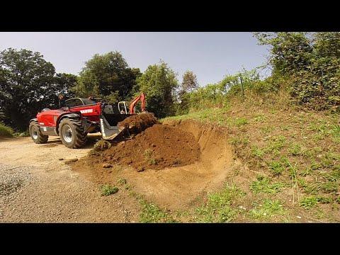 nouveau chantier, terrassement