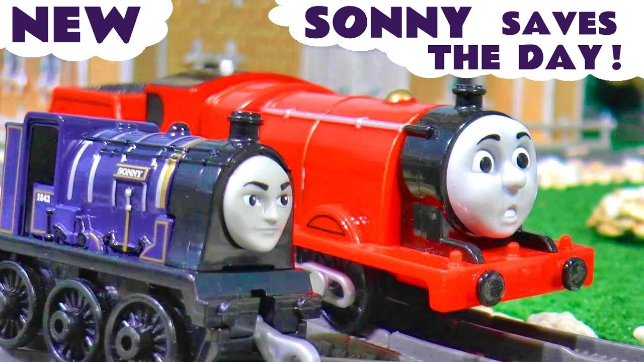 Thomas and Friends Trackmaster Sonny Saves The Day - Toy Train Story TT4U
