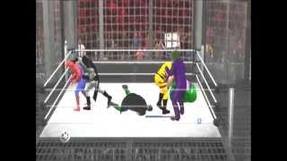 Wolverine Vs Spiderman Vs Hulk Vs Batman Vs Robin Vs Joker - (SvR 2011)