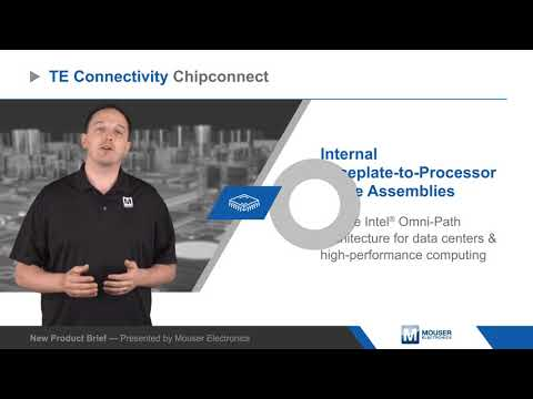 TE Connectivity Chipconnect Internal Faceplate-to-Processor Cable Assemblies - New Product Brief