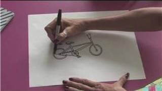 Drawing Lessons : How to Draw a BMX Bike