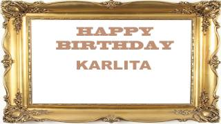 Karlita   Birthday Postcards & Postales - Happy Birthday