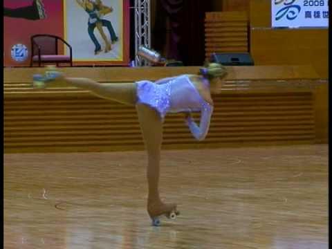 Tania Romano.SP.Mundial 2008.Individual Senior Femenino.HIGH QUALITY