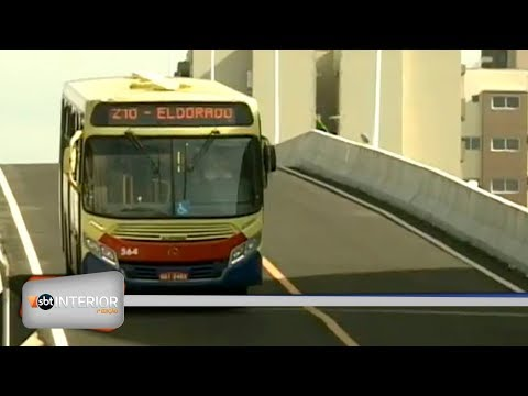 Viaduto exclusivo pra coletivo urbano é inaugurado em Rio Preto