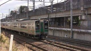 701系仙台色6両 岩切駅~東仙台駅間にて thumbnail