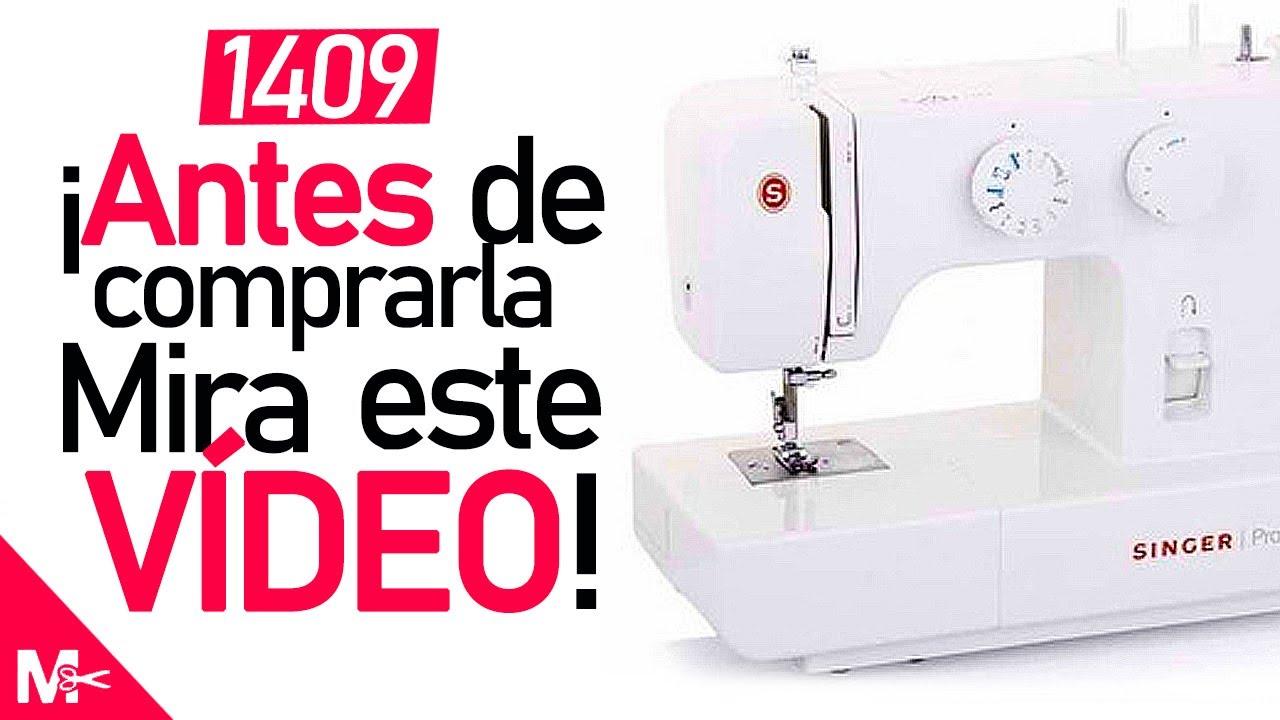 Máquina de coser SINGER PROMISE 1409 (Características