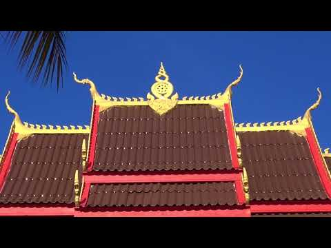 Wat Pa Pao, Buddhist temple near Vientiane, Laos