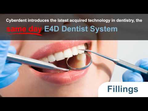 E4D Dentist Technology! Crowns, Veneers & Fillings in 1 Appointment! Cyberdentistry.com