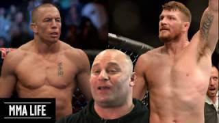 Georges St-Pierre 'Bisping's size doesn't matter, I spar with Heavyweights'