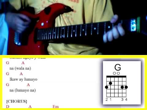 Jeepney By Sponge Cola Guitar Chords Youtube