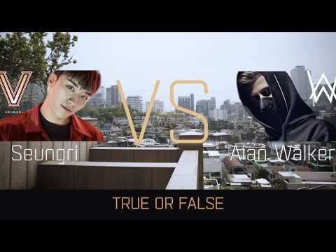 K-391 - True or False Challenge w/ Alan Walker & Seungri