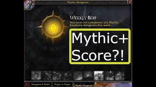 Get in Higher Mythic+ Groups with this Simple Tool | Mythic+ Score System Explained