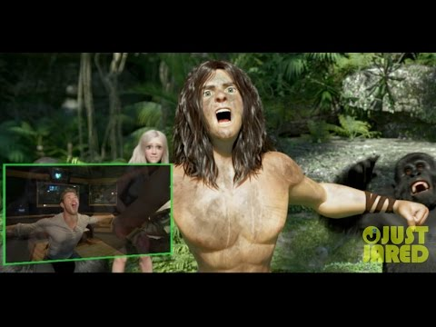 Go Behind-The-Scenes on 'Tarzan' with Kellan Lutz (Exclusive)