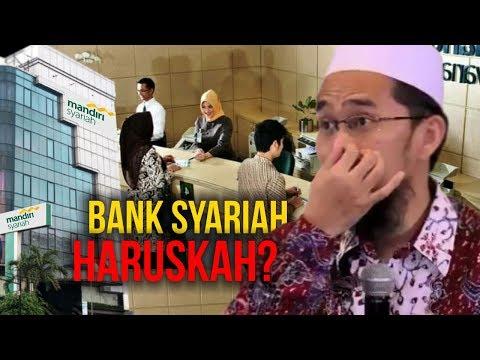 WARNING‼️ Haruskah Menggunakan Bank Syariah? - Ustadz Adi Hidayat LC MA